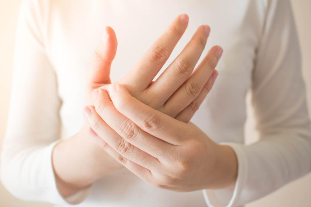 Hand schmerzen nach OP