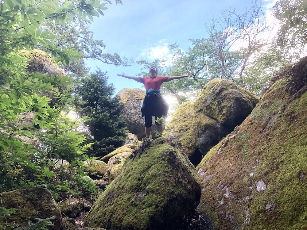 Erholt in der Natur